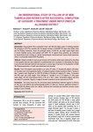 An observational study of follow up of MDR-tuberculosis patients after successful completion of category 4 treatment under RNTCP (PMDT) in Allahabad district [printed text] / Mahmood, T., Author; Dwi